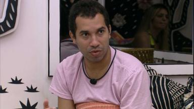 Gilberto está no quarto cordel  no BBB21