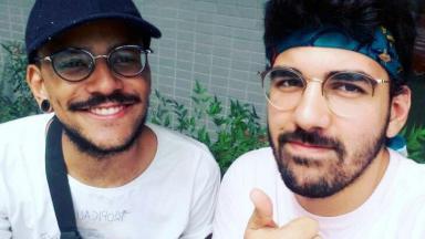 Selfie de João Luiz e Igor Moreira