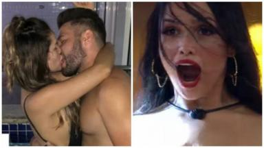 Juliette beija Ranniery Gomes na boca em foto antes do BBB21