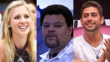 Ana Carolina, do BBB9, Babu, do BBB20, e Marcelo, do BBB14, são recordistas de paredão do BBB
