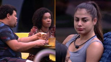 Babu e Thelma criticaram postura de Mari no BBB20