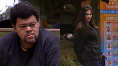 Babu Santana e Mari Gonzalez se estranharam no BBB20