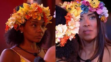 Thelma questionou Ivy sobre postura com Babu no BBB20