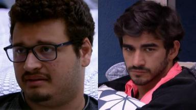 Victor Hugo disse que ama Guilherme, no BBB20