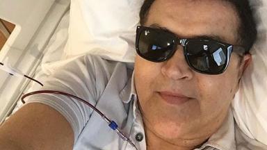 Beto comemora recuperação e fim do tratamento