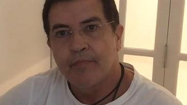 Beto Barbosa passa bem após nova cirurgia