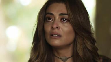 Bibi Perigosa chorando