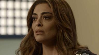 Juliana Paes em cena do último capítulo de A Força do Querer, em reprise na Globo