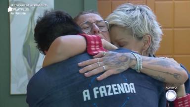 Bifão e Andréa Nóbrega choram muito no reality show A Fazenda 2019 por causa de Netto Rodrigues