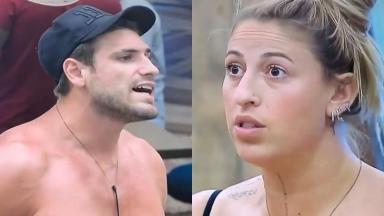 Bifão e Guilherme bateram boca mais uma vez no reality show A Fazenda 2019