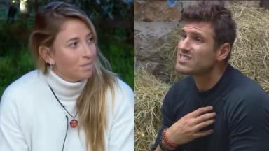 Guilherme ficou alterado ao falar do relacionamento com Bifão em A Fazenda 2019