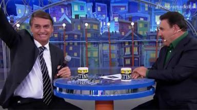 Jair Bolsonaro em entrevista ao Programa do Ratinho