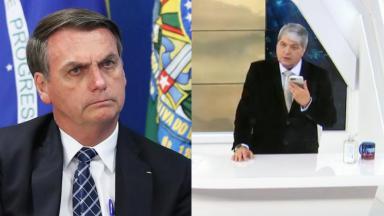 Jair Bolsonaro falou com Datena