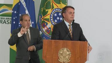 Jair Bolsonaro apareceu no Jornal Nacional