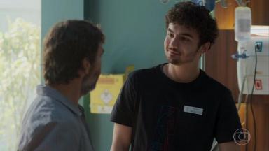 Marcelo Faria e Gabriel Contente em Bom Sucesso