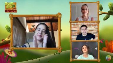 Silvia Abravanel, Yudi Tamashiro, Maisa Silva e Jackeline Petkovic