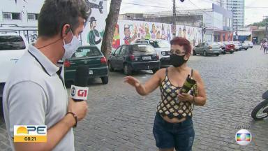 Repórter Bruno Fontes, da Globo Pernambuco, passa por saia justa ao vivo