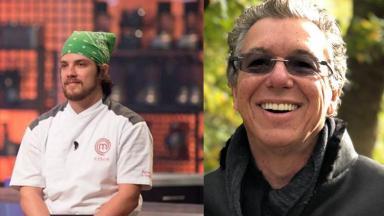 Chef Vitor e Boninho
