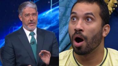 William Bonner citou Gil do Vigor no Jornal Nacional e virou assunto nas redes sociais