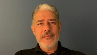 William Bonner em entrevista ao Se Joga, na Globo