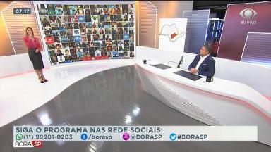 """Joel Datena Laura Ferreira no """"Bora SP"""""""
