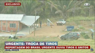Polícia invade uma chácara em busca de Lázaro Barbosa