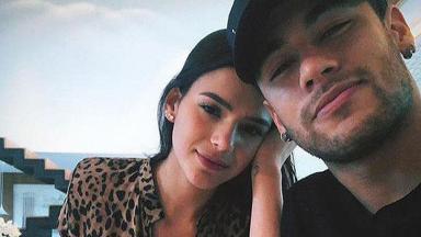 Selfie antiga de Bruna Marquezine e Neymar