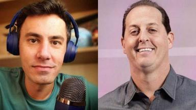 Bruno Vicari e Benjamin Back, apresentadores de ESPN Brasil e Fox Sports