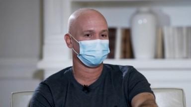 Caio Ribeiro fala do tratamento contra um câncer em entrevista ao Esporte Espetacular, na Globo