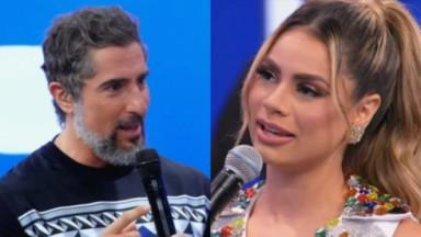 Marcos Mion e Lexa no Caldeirão