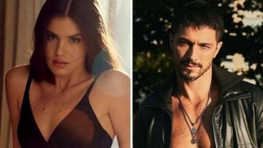 Camila Queiroz e Romulo Estrela sexys
