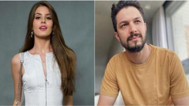 Camila Queiroz e Romulo Estrela