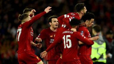 Time do Liverpool na Premier League