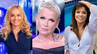 Montagem com Angélica, Xuxa e Mara