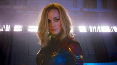 A atriz Brie Larson