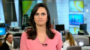 Jornalista era uma das apresentadoras do telejornal Fala Brasil