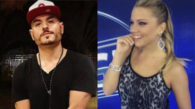 Carlinhos Silva e Aline Hauck