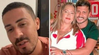 Carlinhos Maia e namorado ao lado da sogra