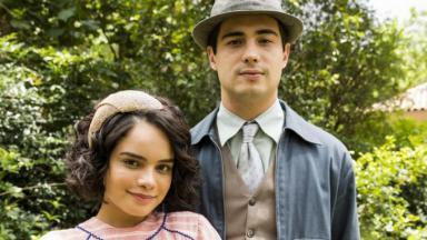 Inês e Carlos em Éramos Seis
