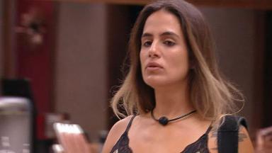 Carolina diz para Diego que ele não será eliminado