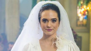 A atriz Juliana Paiva