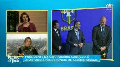 Cátia Fonseca criticou Rogério Caboclo