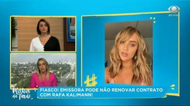 Cátia Fonseca defendeu Rafa Kalimann no Melhor da Tarde