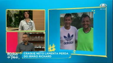 Cátia Fonseca enviou mensagem de carinho para Neto