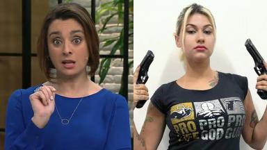 Cátia Fonseca se revolta contra Sara Geromini, extremista que divulgou nome de criança de 10 anos estuprada pelo tio
