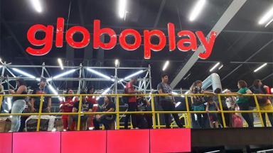 Logo do Globoplay na CCXP