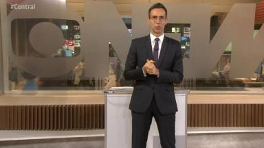 César Tralli no Central das Eleições da GloboNews