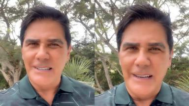 César Filho em vídeo do Instagram