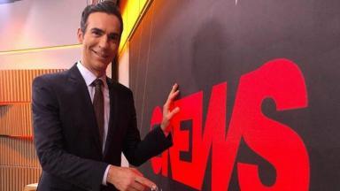 César Tralli na GloboNews