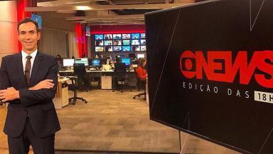 GloboNews registrou com mais do triplo de audiência da CNN Brasil em junho de 2020